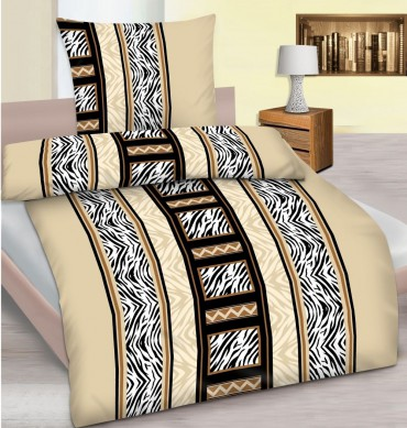 microfaser bettw sche 135x200 cm 80x80 cm motiv afrika sawanne safari ebay. Black Bedroom Furniture Sets. Home Design Ideas