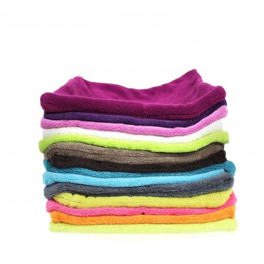 1 kissenbezug 50x50 cm kissenh lle flausch fleece pl sch microfaser farbwahl ebay. Black Bedroom Furniture Sets. Home Design Ideas